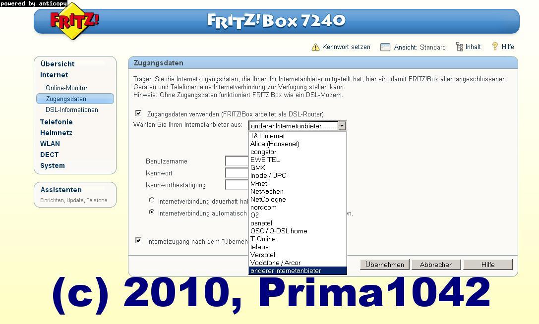 fritz box 7240 homeserver n wlan voip incl rechnung ebay. Black Bedroom Furniture Sets. Home Design Ideas