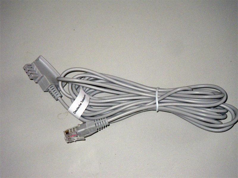 original dsl tae kabel speedport w723v w921v ebay. Black Bedroom Furniture Sets. Home Design Ideas