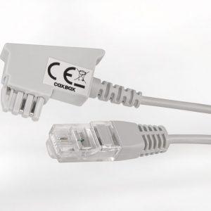 graues DSL Kabel